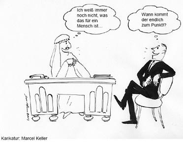 Verhaltensregeln für die arabische geschäftswelt